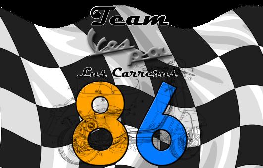 Dorsal-Logo Team Ves-pa las Carreras