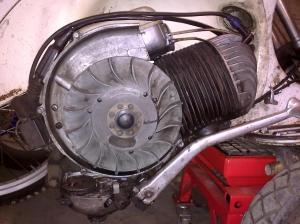 Motor Vespa 200 cc Recien repasado