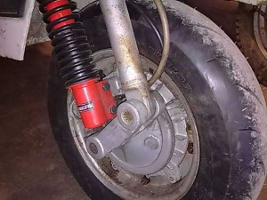 Suspension delantera Vespa
