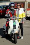 Ivo y Noel. team VESPA las carreras en Zuera
